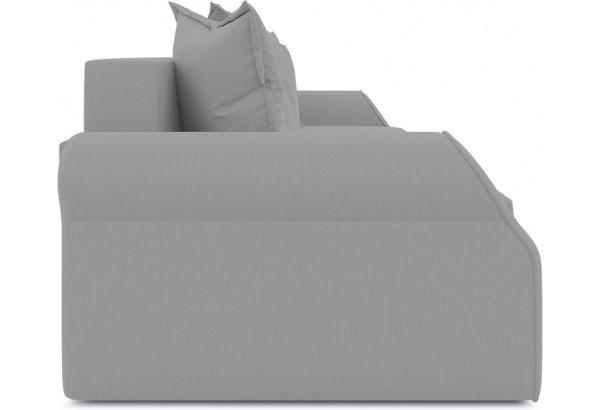 Диван «Люксор» (Poseidon Grey (иск.замша) серый) - фото 4