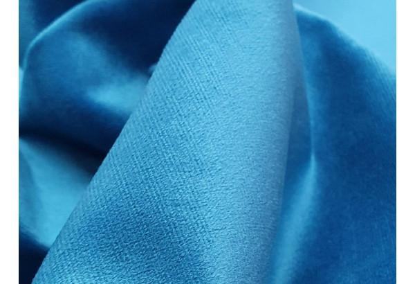 Прямой диван Эллиот голубой/черный (Велюр) - фото 9