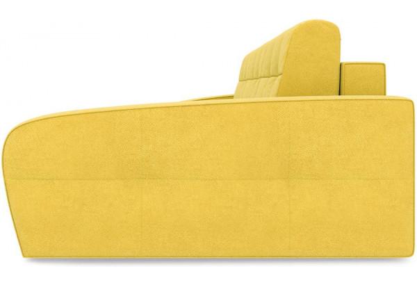 Диван угловой правый «Аспен Slim Т2» Maserati 11 (велюр) желтый - фото 3