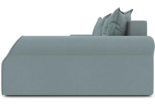 Диван угловой правый «Люксор Т2» (Poseidon Lagoon (иск.замша) бледно-бирюзовый) - фото 5