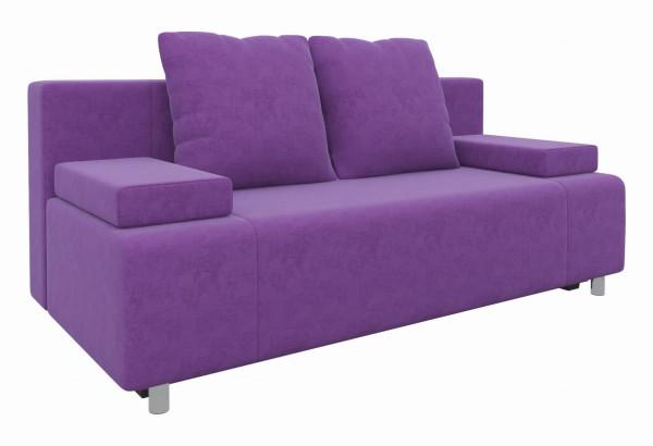 Диван прямой Шарль Фиолетовый (Микровельвет) - фото 1