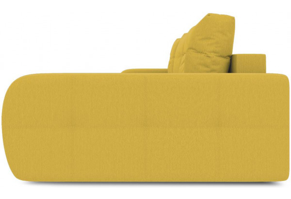 Диван угловой правый «Томас Slim Т2» (Poseidon Curcuma (иск.замша) желтый) - фото 5