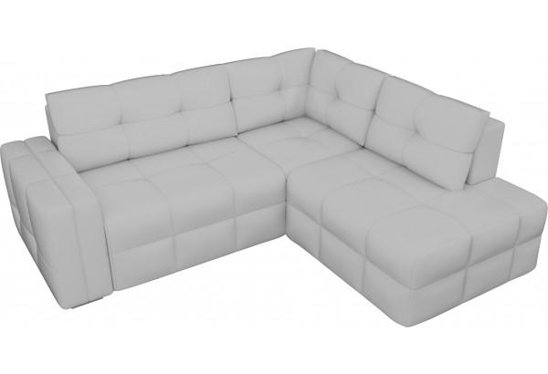 Угловой диван Леос Белый (Экокожа) - фото 4
