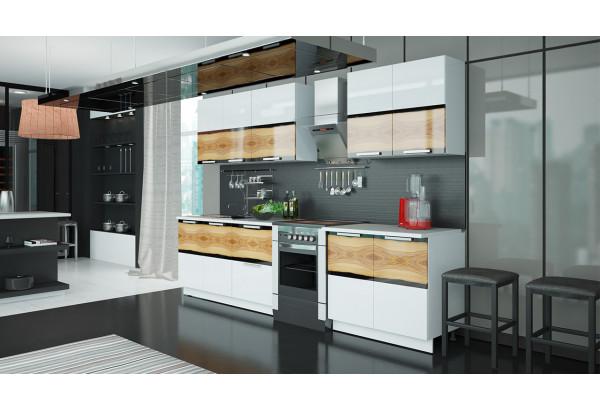 Кухонный гарнитур длиной - 300 см Фэнтези (Вуд) - фото 2