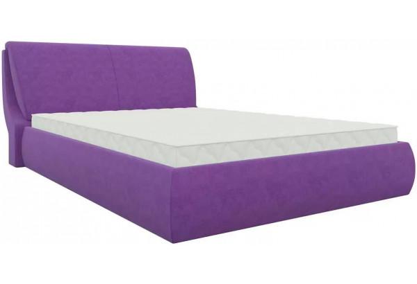 Интерьерная кровать Принцесса Фиолетовый (Микровельвет) - фото 1