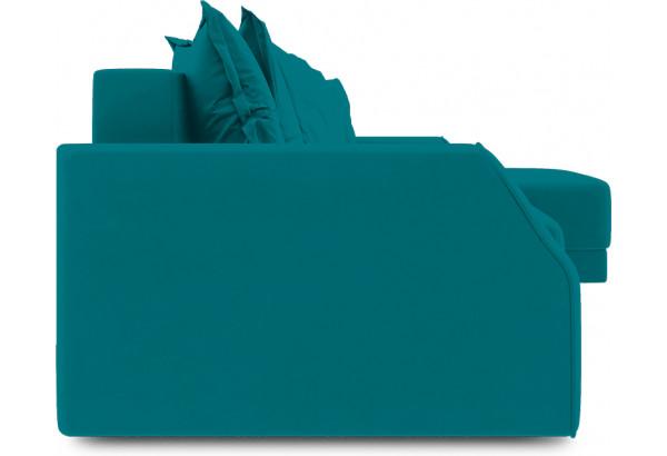 Диван угловой правый «Люксор Slim Т1» (Beauty 06 (велюр) изумрудный) - фото 3
