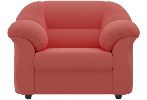 Кресло Карнелла Коралловый (Микровельвет) - фото 2