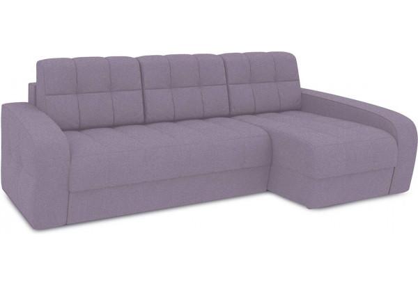 Диван угловой правый «Аспен Т2» (Neo 09 (рогожка) фиолетовый) - фото 1