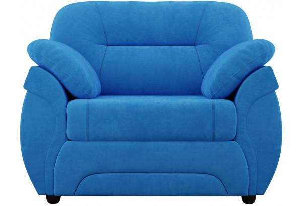 Кресло Бруклин Голубой (Велюр) - фото 2