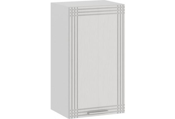 Шкаф навесной c одной дверью «Ольга» (Белый/Белый) - фото 1