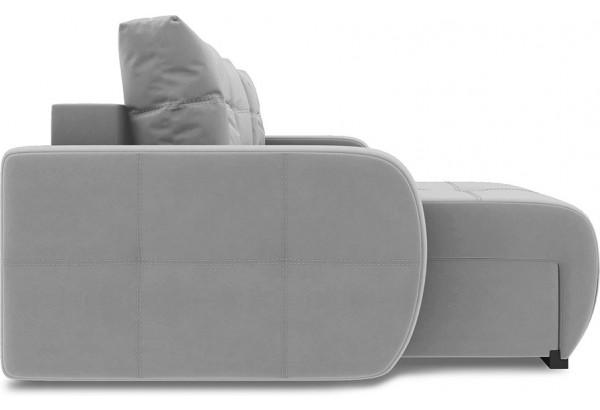 Диван угловой левый «Томас Slim Т1» (Neo 07 (рогожка) светло-серый) - фото 5