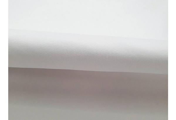 Угловой диван Монако Белый/Черный/Цветы (Экокожа/рогожка) - фото 10