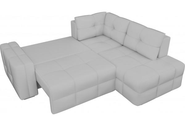 Угловой диван Леос Белый (Экокожа) - фото 6