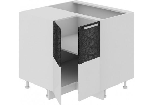 Шкаф напольный угловой с углом 90° Фэнтези (Лайнс) - фото 1
