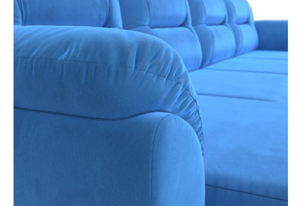 П-образный диван Бостон Голубой (Велюр) - фото 4