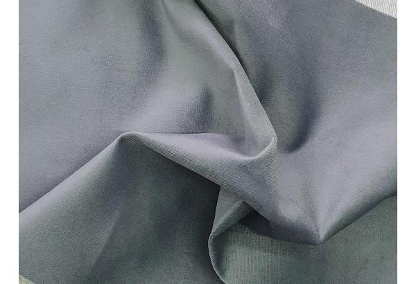 Прямой диван Эллиот черный/серый (Велюр) - фото 11