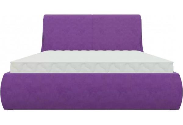 Интерьерная кровать Принцесса Фиолетовый (Микровельвет) - фото 2