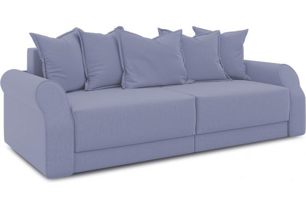 Диван «Люксор» (Poseidon Blue Graphite (иск.замша) серо-фиолетовый) - фото 1