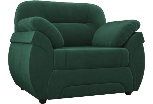 Кресло Бруклин Зеленый (Велюр) - фото 1