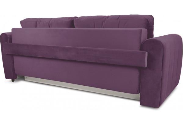 Диван «Хьюго» (Kolibri Violet (велюр) фиолетовый кант Kolibri Cream (велюр) кремовый) - фото 4