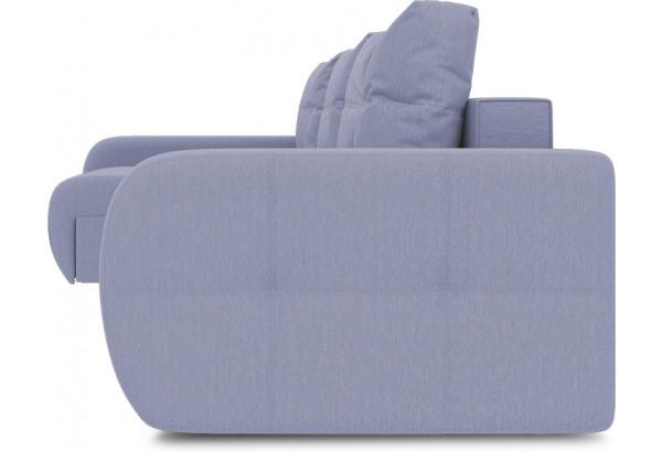 Диван угловой левый «Томас Т2» (Poseidon Blue Graphite (иск.замша) серо-фиолетовый) - фото 3