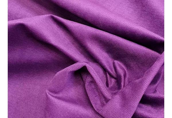 Кухонный прямой диван Люксор черный/фиолетовый (Микровельвет) - фото 6