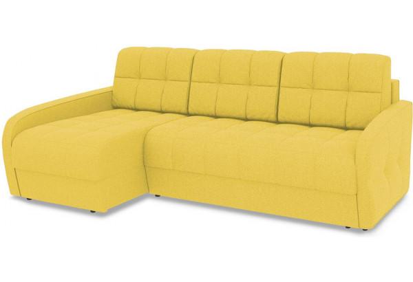 Диван угловой левый «Аспен Slim Т2» (Neo 08 (рогожка) желтый) - фото 1