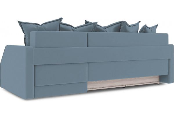 Диван угловой правый «Люксор Slim Т1» (Poseidon Ocean (иск.замша) серо-голубой) - фото 4