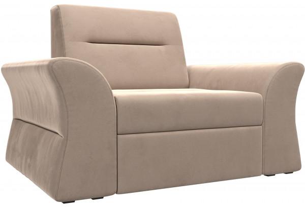 Кресло Клайд Бежевый (Велюр) - фото 1