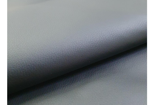 П-образный диван Дубай Серый/черный (Рогожка/Экокожа) - фото 7