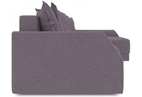 Диван угловой правый «Люксор Slim Т2» (Levis 68 (рогожка) Темно - фиолетовый) - фото 3