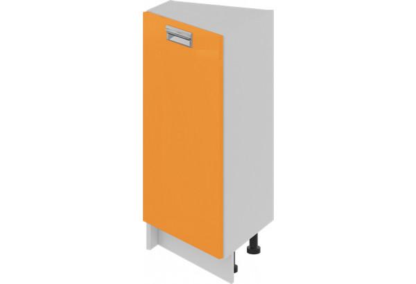 Шкаф напольный нестандартный торцевой (левый) (БЬЮТИ (Оранж)) - фото 1