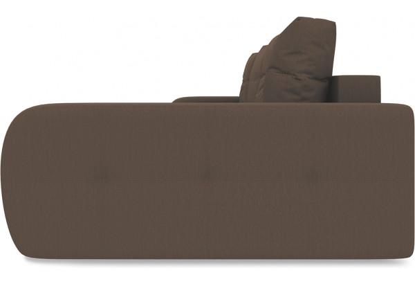 Диван угловой правый «Томас Т2» Galaxy 04 (велюр) темно-коричневый - фото 4