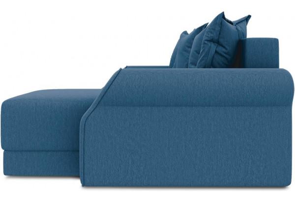 Диван угловой правый «Люксор Т1» Beauty 07 (велюр) синий - фото 4