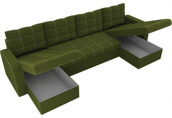 П-образный диван Ливерпуль Зеленый (Микровельвет) - фото 5