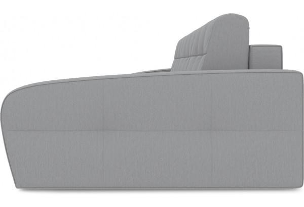 Диван угловой правый «Аспен Т2» (Poseidon Grey (иск.замша) серый) - фото 4
