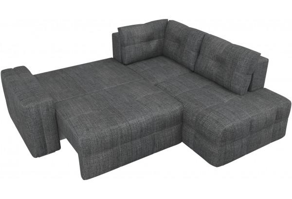 Угловой диван Леос Серый (Рогожка) - фото 6
