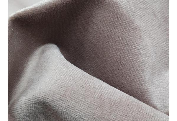Кресло Карнелла бежевый/коричневый (Велюр/Экокожа) - фото 6
