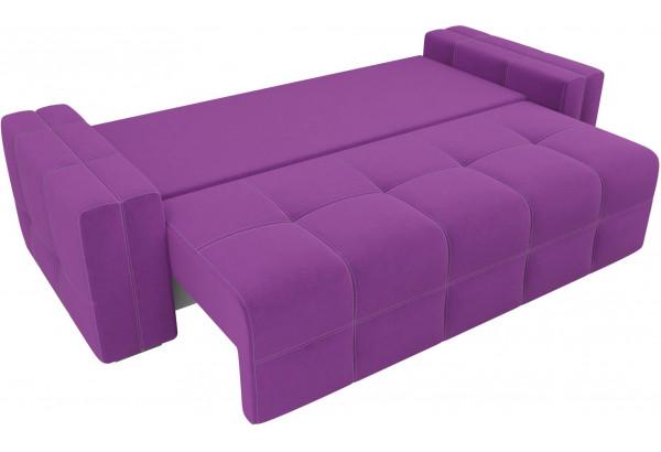 Диван прямой Леос Фиолетовый (Микровельвет) - фото 6