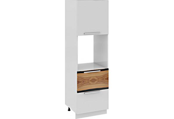 Шкаф пенал под бытовую технику с 2-мя ящиками Фэнтези (Вуд) - фото 2