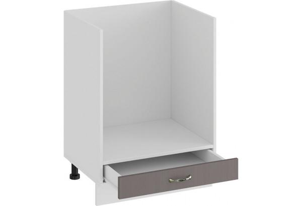 Шкаф напольный под бытовую технику «Бьянка» (Белый/Дуб серый) - фото 2