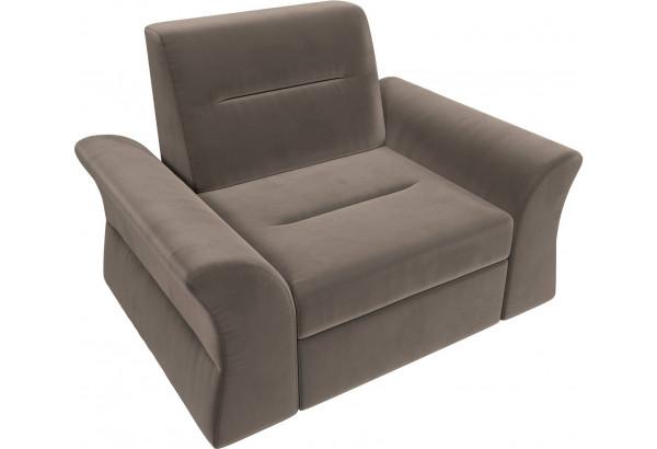 Кресло Клайд Коричневый (Велюр) - фото 6