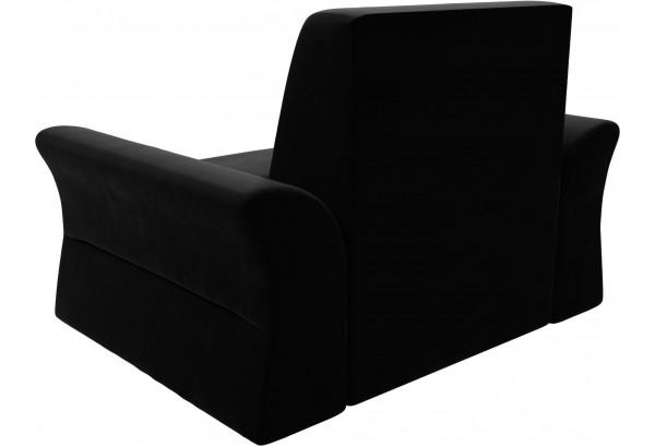 Кресло Клайд Черный (Микровельвет) - фото 4
