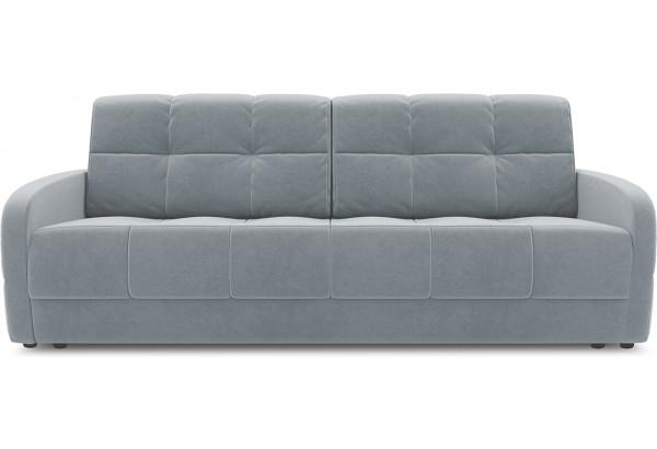Диван «Аспен Slim» Kolibri Silver (велюр) серый - фото 2
