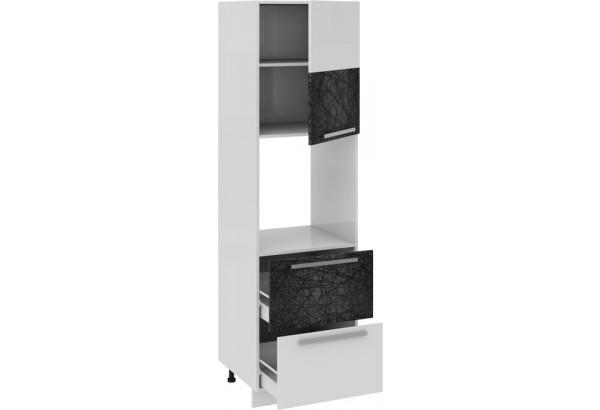 Шкаф пенал под бытовую технику с 2-мя ящиками (правый) Фэнтези (Лайнс) - фото 1
