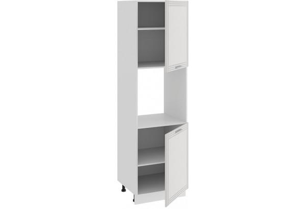 Шкаф-пенал под бытовую технику с двумя дверями «Ольга» (Белый/Белый) - фото 2