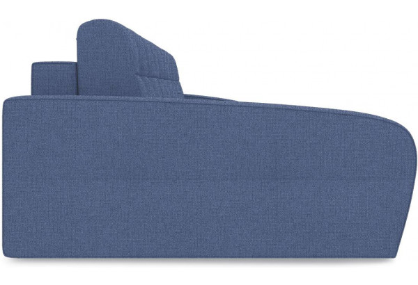 Диван угловой левый «Аспен Slim Т2» (Levis 78 (рогожка) Темно-синий) - фото 4