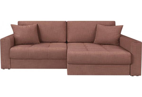 Модульный диван Брайтон вариант №2 розовый (Рогожка) - фото 4