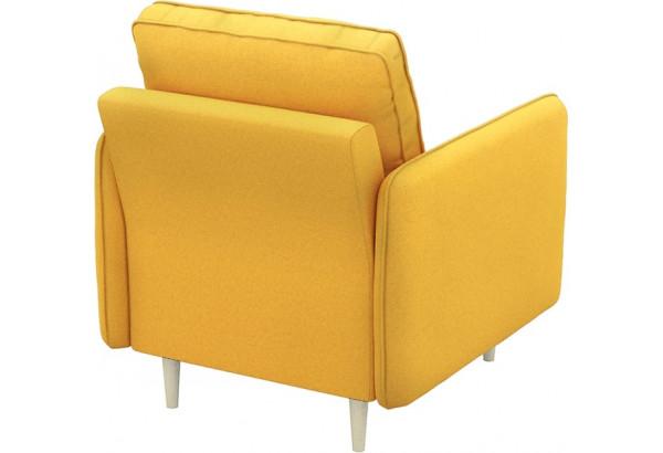 Кресло тканевое Голливуд горчичный (Рогожка) - фото 3
