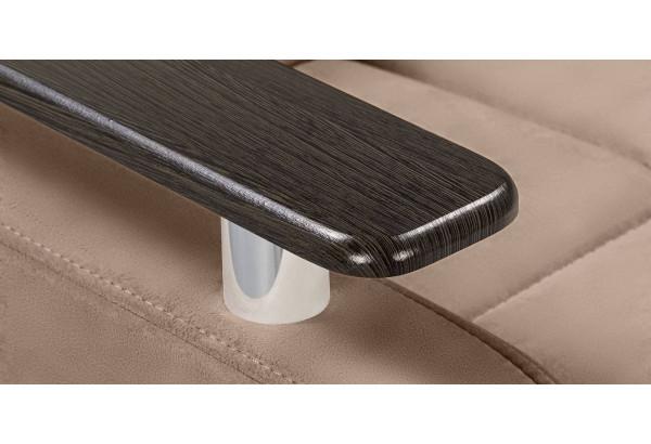 Кресло тканевое Денвер коричневый (Велюр) - фото 10